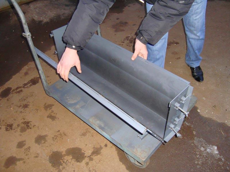 Изготовление форм для бордюров своими руками 260